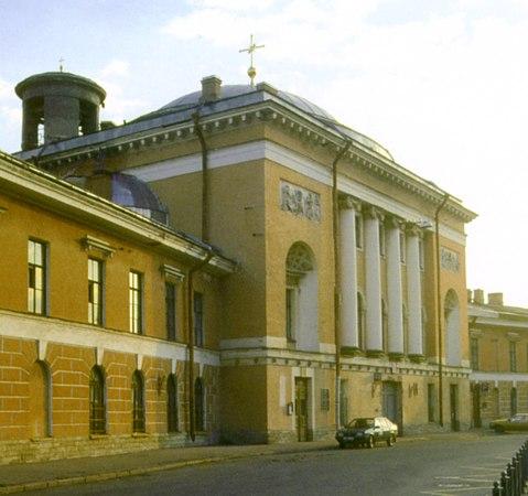 церковь,где отпевали Пушкина