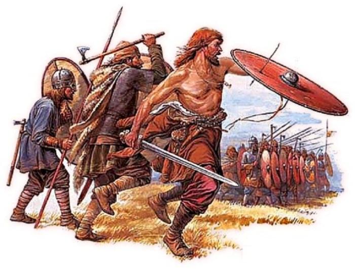 Древние воины.   Фото: liveinternet.ru.