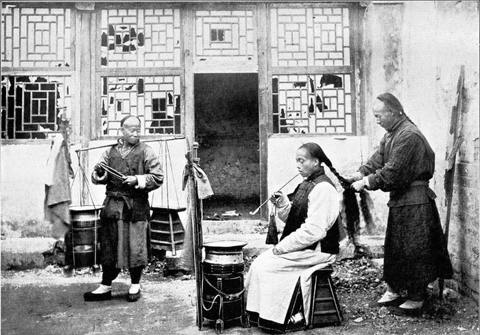 Плетение маньчжурской косы - бянь-фа